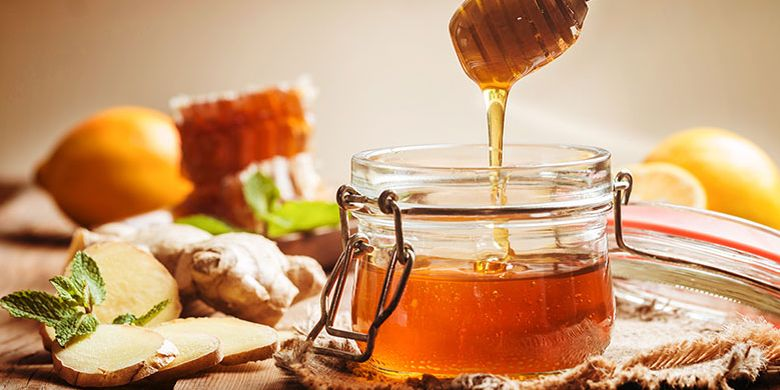 honey as breakout treatment