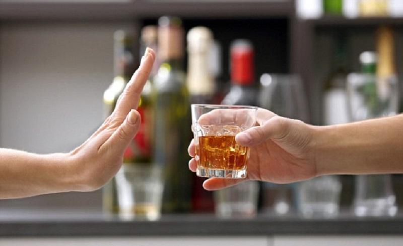 no alkohol to prevent anemia