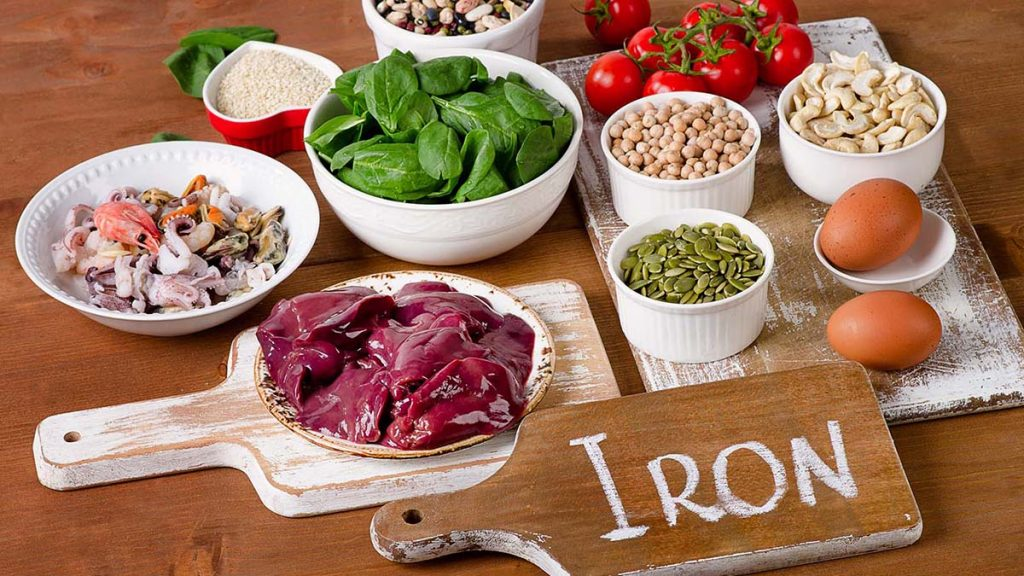 iron foods as anemia treatment in pregnancy