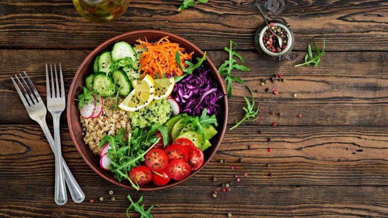 Health Benefits from Vegetarian Diet