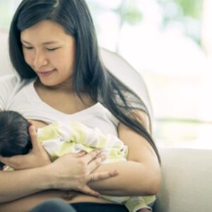 Exclusive Breastfeeding for Healthy Babies
