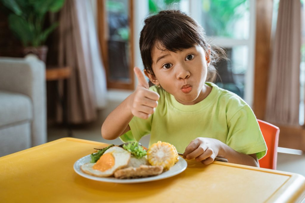 Healthy Kids with Great Appetite